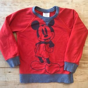 Hanna Andersson Disney Sweatshirt Mickey Mouse